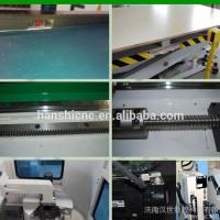 [济南汉世]进口配置高速板式家具生产线自动上下料开料机速度高