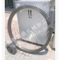 Φ2.2米滚筒烘干机齿圈 跑带 小齿轮 托轮 支架  厂家金滩