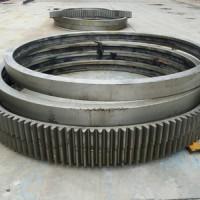Φ1.2米滚筒烘干机齿圈 跑带 小齿轮 托轮 支架 举报 齿轮圈