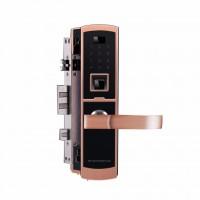 高域GY-9009指纹锁家用电子防盗锁电子门锁高端指纹密码锁**
