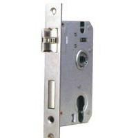 2015新款锁具 特价销售 厂家批发室内门锁 铝合金枪金执手门锁(砂白)机械性能 弹子插芯门锁
