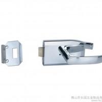 无匙墙对玻款长固ST-H008玻璃门锁 锌合金12mm规格室
