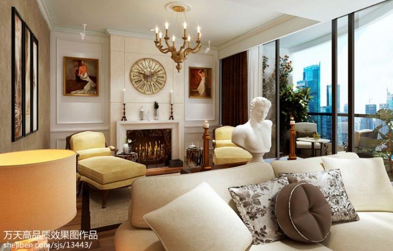 欧风家具城卧室的搭配设计理念说明