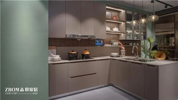 志邦把家具做到极致选择志邦橱柜是最安心的陪伴