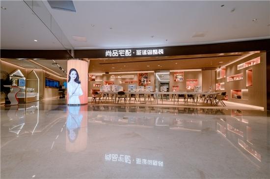 探秘尚品宅配携手华人设计教父打造的整装新形象店有何独特之处